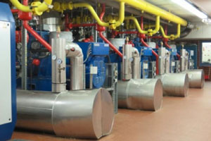 Combined heat and power (CHP) plant
