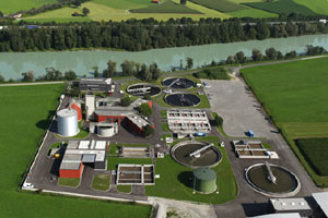 2-stage WWTP Kirchbichl (Tirol, Austria)with sidestream nitritation